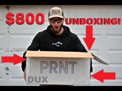 5fd738fc70f  800 DUX WATERFOWL CO. UNBOXING and GIVEAWAY!!! - YouTube