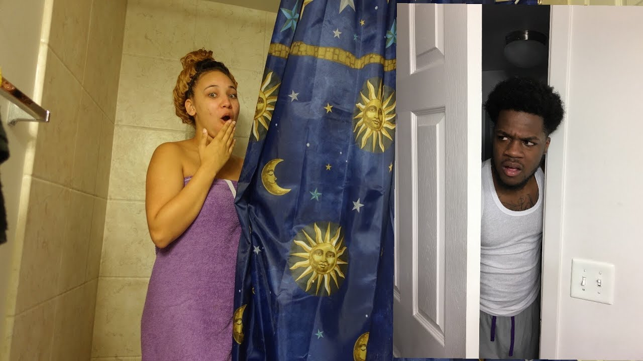 Caught In The Shower With Another Man Prank On Boyfriend -3846