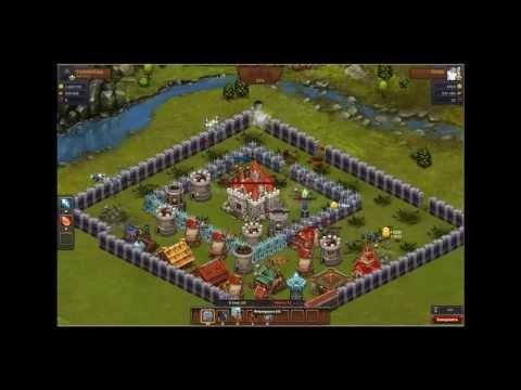 Фарм/грабежи замков в игре Революция/Битва  За Трон !