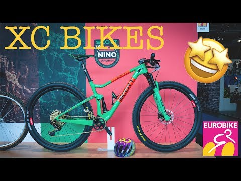 best XC BIKES for 2019 from the EUROBIKE 2018 in detail [4K]