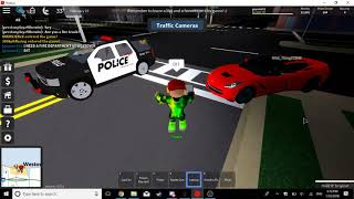 ROBLOX | Ultimate Driving: Westover Islands | Police Officer
