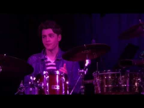 Liam Kharem in drums at Lagond's Live from the Haven