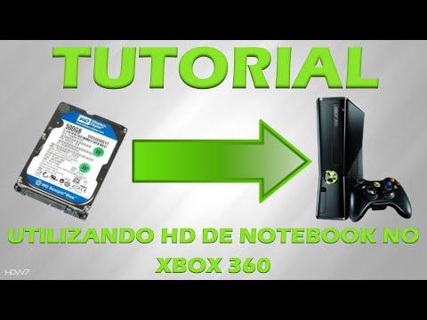 Tutorial - Utilize um HD de notebook no Xbox 360
