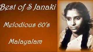 Best of S Janaki || Malayalam Old Songs || Super Hits || Rare Gems|| 60s || Pure Melodies || Top 50