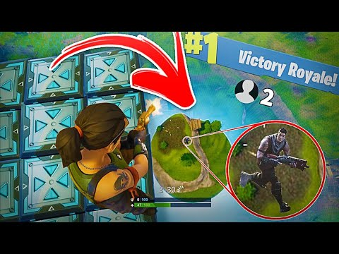 THE BEST WAY TO WIN A GAME OF FORTNITE BATTLE ROYALE!