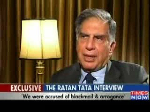 Ratan Tata highly praises Narendra Modi - Times Now (Nano NaMo Sanand)
