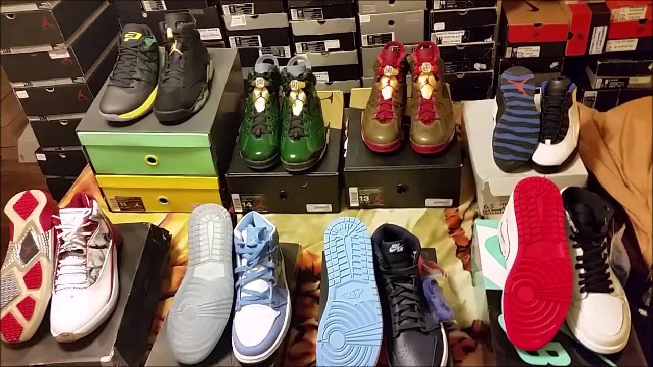 dd1ebae363d332 The OG King Air Jordan Collection FOR SALE Summer 2014 - YouTube