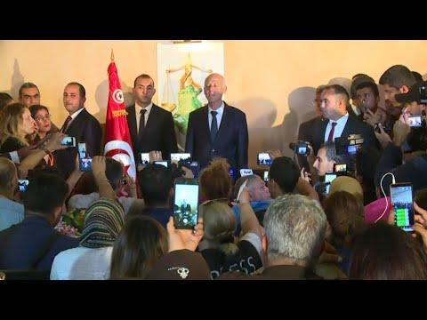 Journal de l'Afrique - Présidentielle en Tunisie : Kaïs Saeid élu à 72,71% des voix