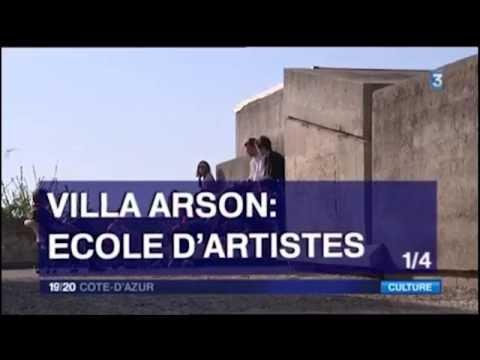 Villa Arson 1/4 - France 3 19/20 Côte d'Azur, 27 octobre 2014