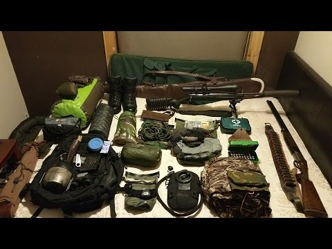 Bushcraft Equipment: 1 To 5 Day Hunting Pack