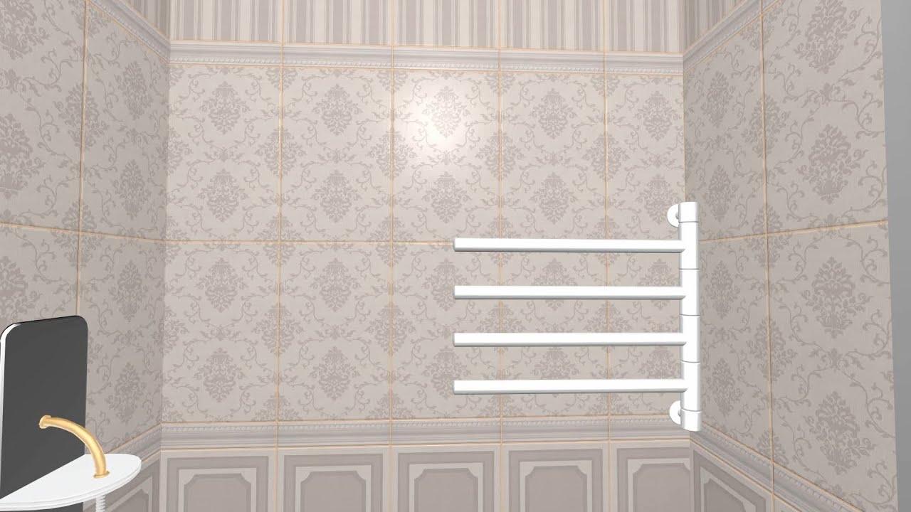 Коллекция Лила (Уралкерамика) | 3D-раскладка плитки - YouTube