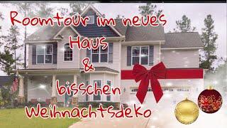 Roomtour im neues Haus & ein bisschen Weihnachtsdeko 🎅🏻 🎄🏡🎥