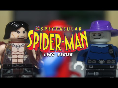 The Spectacular Lego Spider-Man (S1:EP9) Camouflage Part 2