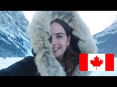 The Most Canadian Vlog Ever: Banff, Lake Louise, Hockey, Moose, Country Music