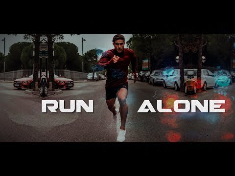 RUN ALONE 😥 GYM MOTIVATION