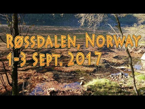 [4K] Weekend Camp, Røssdalen, Norway Sept. 2017