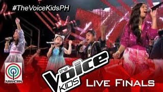 "The Voice Kids PH 2015 Live Finals: ""Larger Than Life""/""Spice Up Your Life""/""Cup Of Life"" by Top 4"
