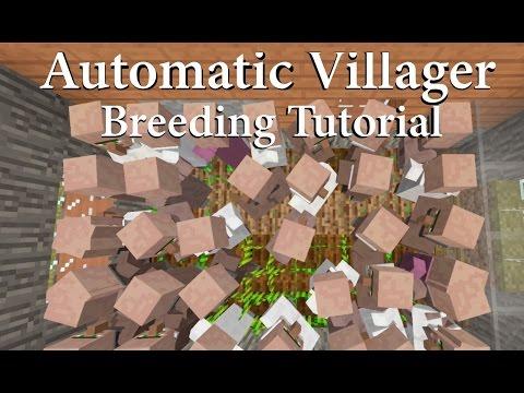 Simple Automatic Villager Breeding - Console Edition TU46 / 1.39 ( Tutorial )