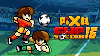 PIXEL CUP SOCCER 16 - Retro-Sytle  Arcade Soccer Game (iOS/Android)