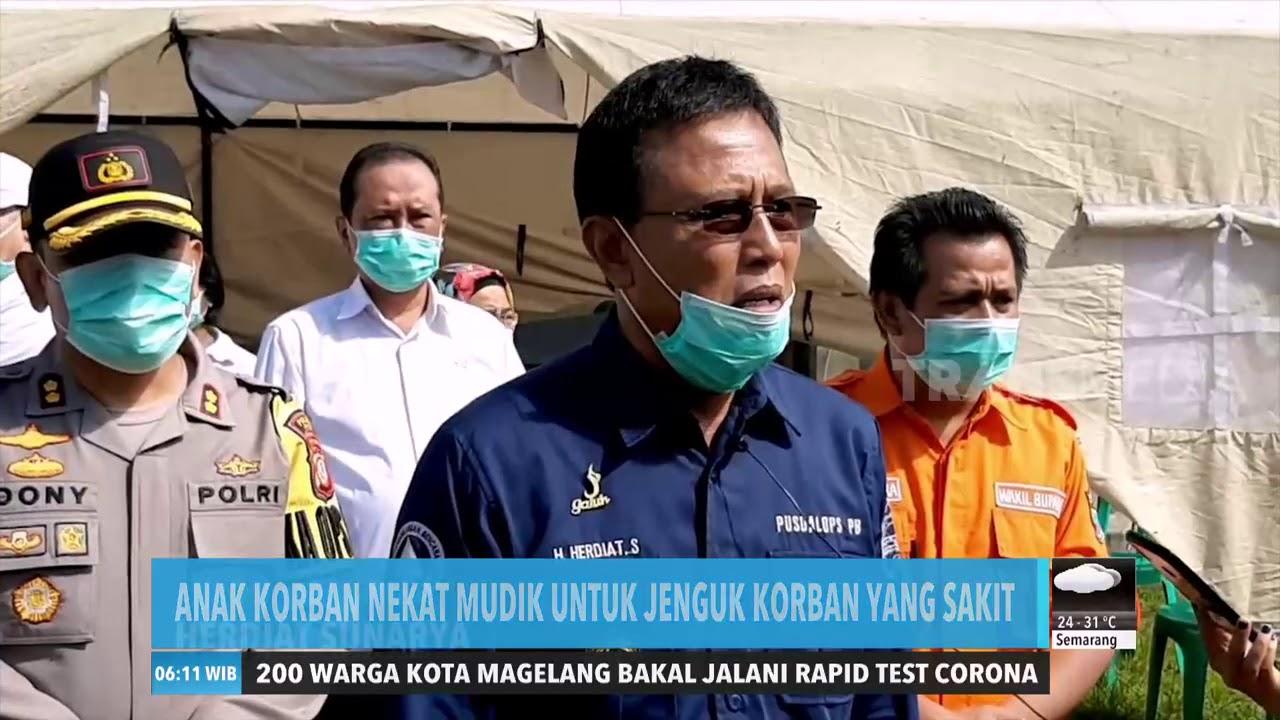 Warga Ciamis Positif Corona Tertular Pemudik   REDAKSI PAGI (06/04/20)
