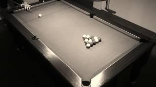 16ème cassé fermé (billard anglais 8pool blackball)