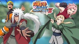 Naruto Clash of Ninja Revolution III: Naruto and Jiraiya vs Sakura and Tsunade