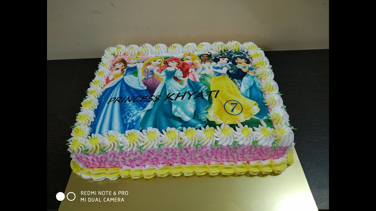 Princess Photo Cake