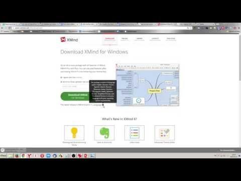 Как установить программуXMind для составления интеллект-карт