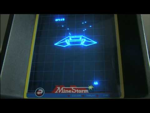 Classic Game Room HD - MINE STORM for Vectrex review thumbnail