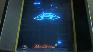 Classic Game Room HD - MINE STORM for Vectrex review