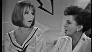 legends judy garland barbra streisand duet