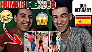 ÁRABE y ESPAÑOL reaccionan a HUMOR MEXICANO! 😂🇲🇽 (El Roxet :v)