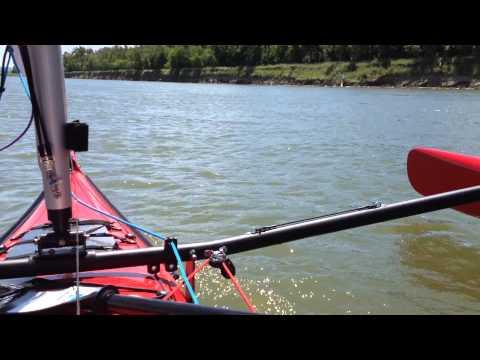 Warren Light Craft - Sailing the Missouri River in North Dakota