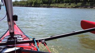 Warren Light Craft - Sailing the Missouri River in North Dakota