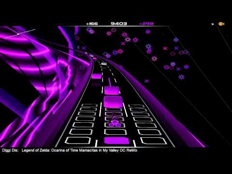 "*Audiosurf* - Legend of Zelda : Ocarina of Time ""Mamacitas in My Valley"" OC ReMix"