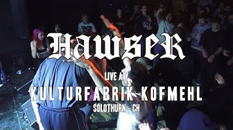 HAWSER - 17.01.2020. - live @Kofmehl, Solothurn - CH