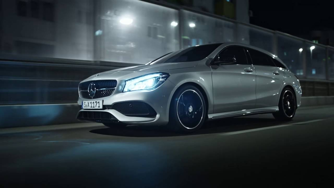 The New Cla Edge Sharpened Mercedes Benz Cars Uk
