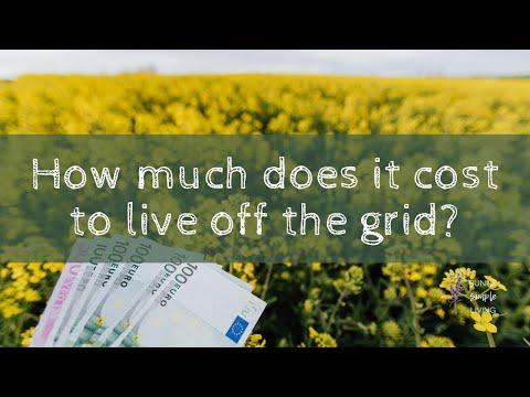 SSL FB Live off grid living expenses