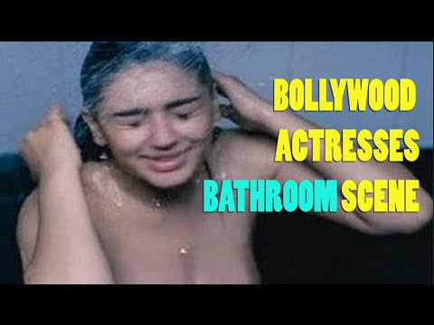 Bollywood Actresses Rare Steamy Bathing Scene