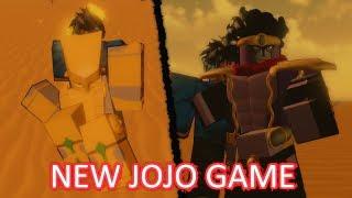 Testing a New JoJo's Bizarre Adventure Game on Roblox!   JOJO: Shining Wind
