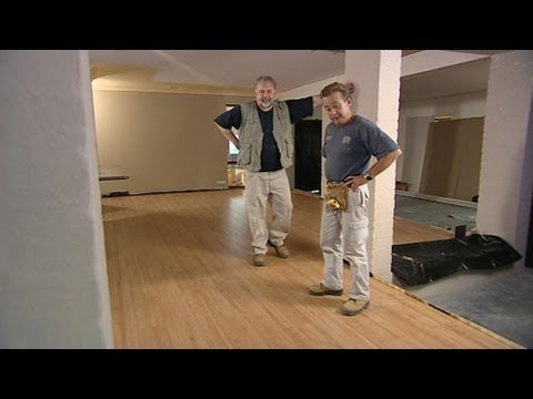 Laying a Timber Floor on Concrete
