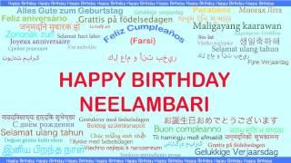 Neelambari   Languages Idiomas - Happy Birthday