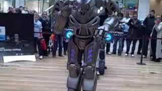 Titan the Robot in Birmingham Bullring 1 - Birmingham Post thumbnail
