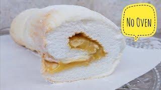No Oven Brazo de Mercedes   How to make Brazo de Mercedes (dessert recipe)