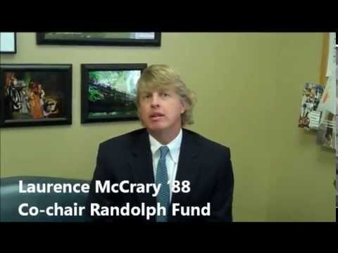 It's About Students: Randolph Fund Message