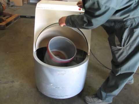 *SOLD* FM Fluid Management Harbil EZ Load 5 Gallon Paint Shaker Mixer Red Devil