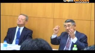 日本の「官僚の鑑」と身体心理学の大家との二大協演による質疑応答