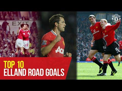 Top 10 Goals v Leeds United at Elland Road | Manchester United