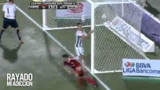 Tijuana vs monterrey 3-4 jornada 12 clausura 2015 liga mx