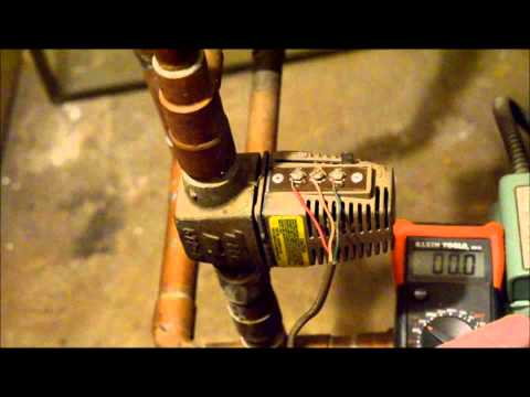 Troubleshooting a Taco Zone Valve: Checking the Voltages - YouTubeYouTube